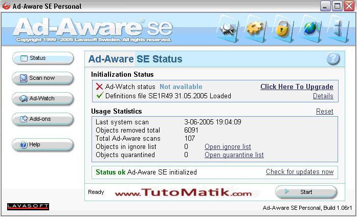 Lavasoft ad aware 6.