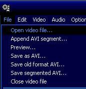open video file